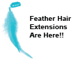 Feather Hair Extensions Are Here!!